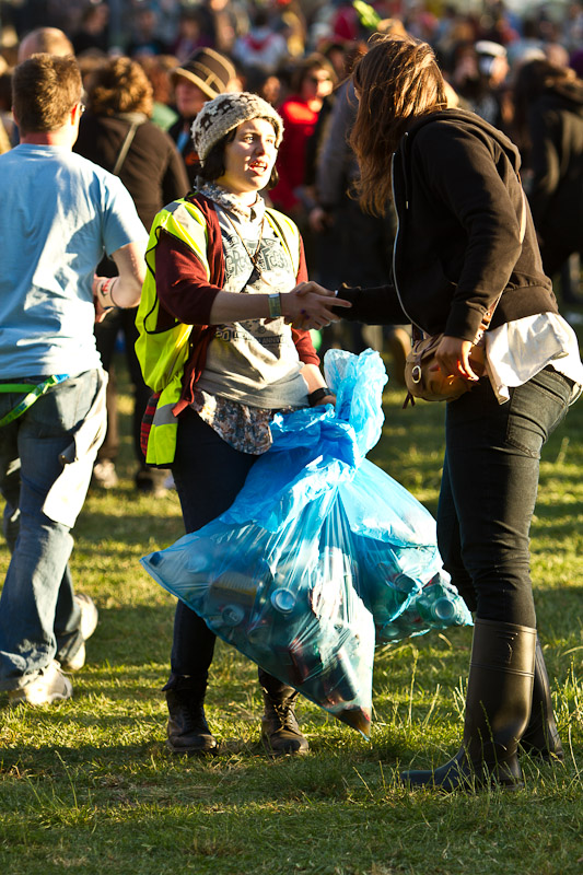 Meredith Music Festival 2010 - Cleanup