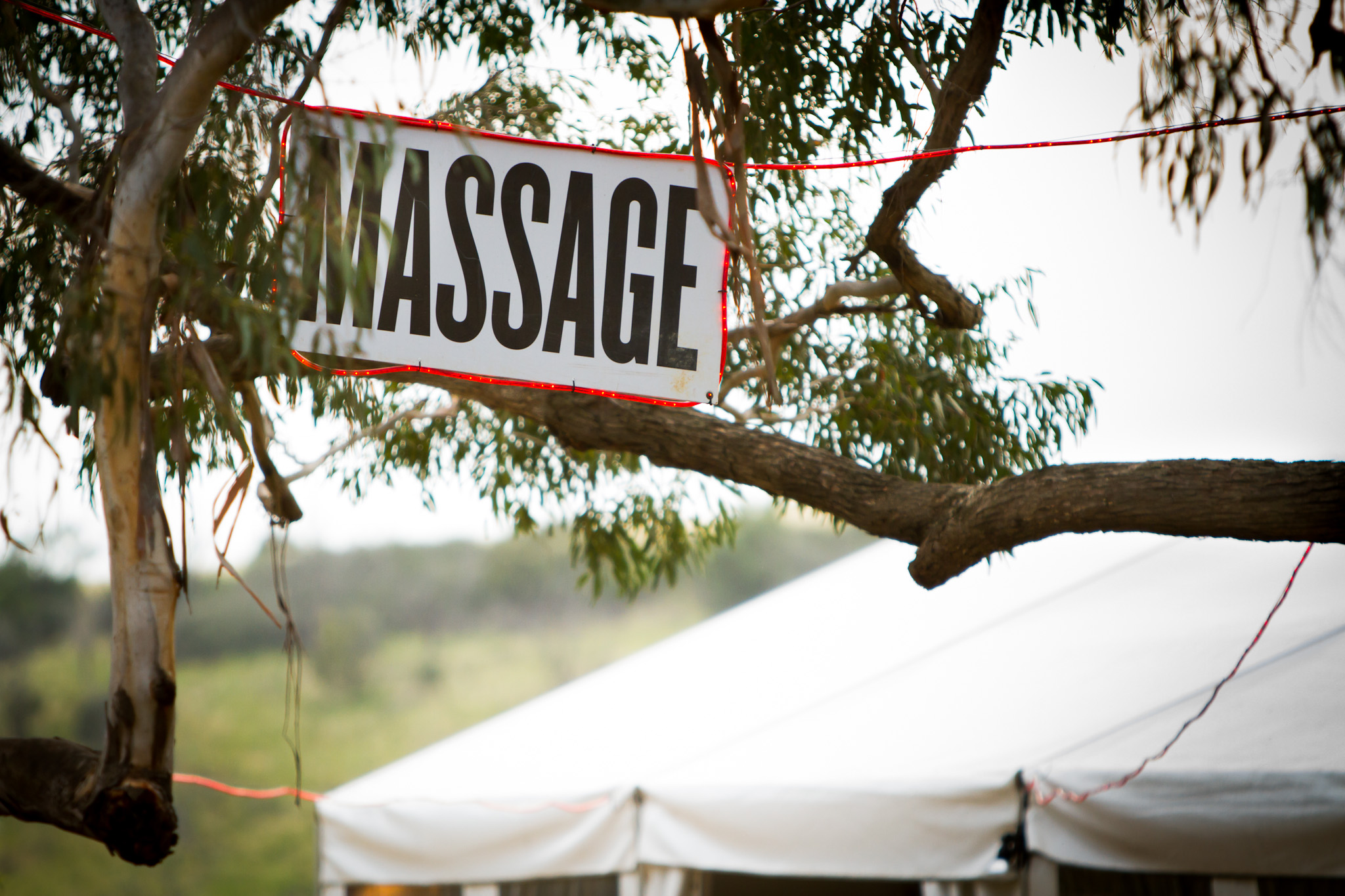 Massage Meredith Music Festival 2011
